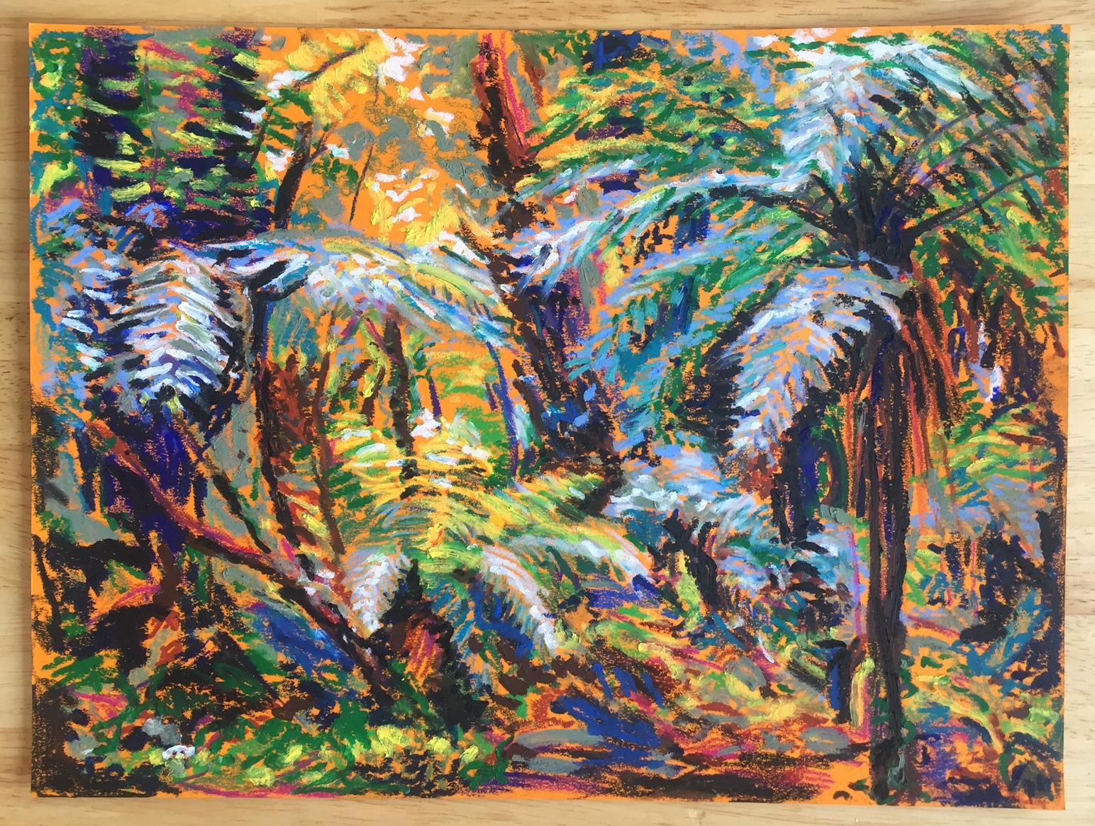 Évasion – Fougères arborescentes
